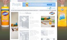 THE CLOROX COMPANY Clorox : Wipes Para el lanzamiento de este nuevo producto de Clorox, diseñamos una campaña digital íntegramente desarrollada con los últimos standards de HTML5. ver demo: www.e-zense.com/portfolio/the_clorox_company/clorox/wipes/HTML5_Banners