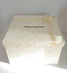 Geldgeschenkbox Hochzeitsbox Briefbox Hochzeit von Papiergarten auf DaWanda.com