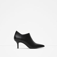 Image 1 of MID-HEEL ANKLE BOOTS from Zara