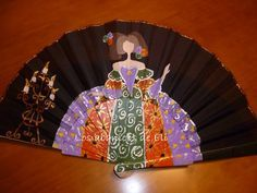 La Minena Hand Held Fan, Hand Fans, Antique Fans, Fan Decoration, Hot Flashes, Waiting Rooms, Beautiful Hands, Diy And Crafts, Artsy