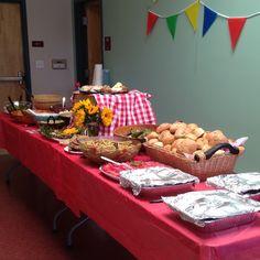 Picnic Theme Teacher Appreciation Luncheon