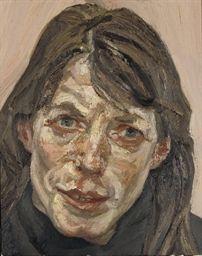 Lucian Freud - Head of a Woman