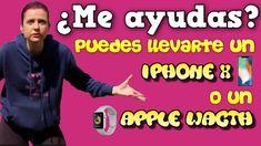 ¿Me ayudas? Puedes llevarte un iPhone X o un iWacth