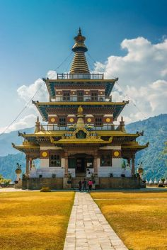 In Photos: Beautiful Bhutan – Travel Seyehat Tibet, Places Around The World, Travel Around The World, Around The Worlds, Places To Travel, Travel Destinations, Places To Visit, Bhutan, Himalayan