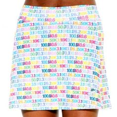 distance athletic skirt