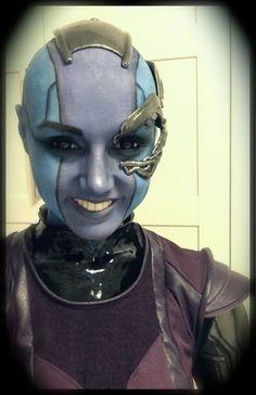 Karin Olava as Nebula - Guardians of the Galaxy
