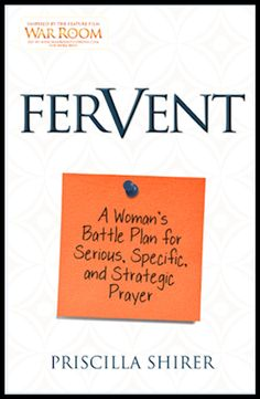 Fervent by Priscilla Shirer--Book Review