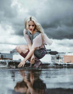 Dove Cameron on Modeliste Magazine...such a little beauty.  My son has a crush on her. haha