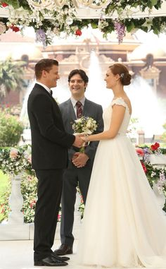 Bones from Best TV & Movie Wedding Dresses