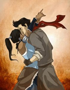 Suddenly~ Actually, I love Bolin more, but these two just look great together, sooooo And I also dislike that pretty woman Mako`s seeing now awawawaw Ko. Korra x Mako : Makkora : Korra Avatar, Team Avatar, Mako Legend Of Korra, Avatar Cartoon, Avatar The Last Airbender Art, Avatar Series, Avatar Couple, Cartoon Shows, Manga
