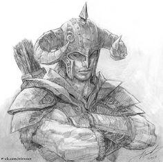 The-Elder-Scrolls-фэндомы-скайрим-драконорожденный-801065.jpeg (1010×1003)