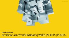 Nitronic Alloy Roundbars,Rods and Plates Stockist,Suppliers and Manufacturers in india