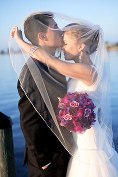 cute pic and love the bouquet!