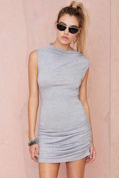Nasty Gal Melina Ruched Dress | Shop Dresses at Nasty Gal