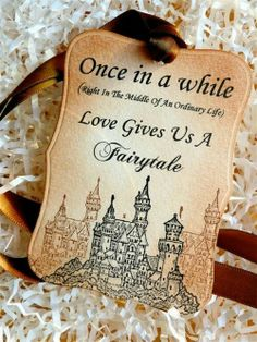 I'd love to have this as a fairy tale invitation to my wedding!