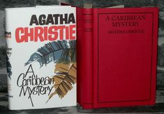 Agatha Christie - A Caribbean Mystery. This Novel forms part of an issue of the Agatha Christie book Collection. This is a Facsimile Edition dated 2013 of the Original 1964 Edition. Agatha Christie, Caribbean, Mystery, Novels, Learning, Books, Ebay, Vintage, Libros