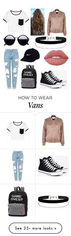 """China"" by augusteee on Polyvore featuring Converse, Topshop, Vans, River Island, NIKE, Lime Crime and Miss Selfridge"