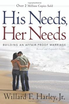 His Needs, Her Needs: Building an Affair-Proof Marriage by Willard F. Jr. Harley, http://www.amazon.com/dp/0800719387/ref=cm_sw_r_pi_dp_npViqb11R5GFT
