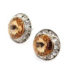 These Topaz crystal stud earrings are just £6.87 in the P&B Sale! http://www.pearlandbutler.co.uk/598-p/topaz-crystal-stud-earrings.aspx