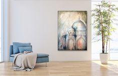 Mixed Media Canvas, Contemporary Paintings, Art And Architecture, Taj Mahal, Spiritual, Abstract, Room, Instagram, Summary