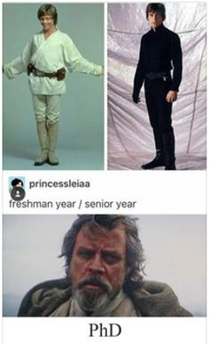 Luke Skywalker - School pictures I cannot tell you how true this is!<< This is hilarious! Star Wars Meme, Star Trek, Geeks, Star Wars Personajes, Mark Hamill, The Force Is Strong, Love Stars, Luke Skywalker, The Villain