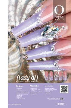 27 Lady Di Manolo Rosas / Promaster Organic® Nails Diseño publicado en la revista Lo Mejor No. 27 de Organic® Nails.  http://youtu.be/RqgkbjSZ8oE?list=PLVzihPafxEExC2nJKSEILapAPeIDz54Pv
