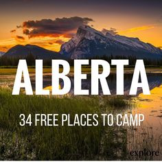 Looking for adventure this long weekend? Look to Alberta--and it's free! (Article link in bio. Kayak Camping, Camping Life, Camping Hammock, Campsite, Camping World Rv Sales, Alberta Travel, Best Campgrounds, Camping Humor, Winter Camping