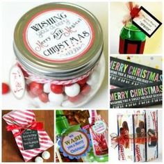 Tis the Season: 25 Festive Neighbor Gifts and Printables by addie
