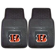 Cincinnati Bengals Heavy Duty Vinyl Front Seat 2 Piece Car Mat Set Z157-4610408891
