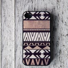 Geometric iPhone 4/4S Case White  by BlissfulCASE