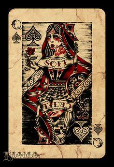 Queen of Spades by ~Ljama on deviantART