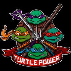 Turtle Power! hoodie by juanfoo http://geek.ragebear.com/di2j1