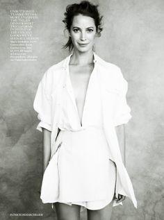 She's Got Style. Christy Turlington for Vogue UK, April 2014