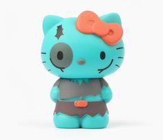 Hello Kitty Collectible Figurine: Zombie