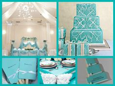 Tiffany theme wedding Tiffany Blue Party, Tiffany Theme, Breakfast At Tiffanys, Color Combinations, Favorite Color, Wedding, Inspiration, Ideas, Home Decor