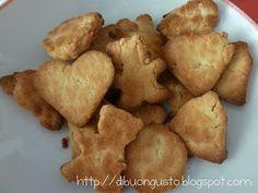 Biscotti Kamut e miele, senza lievito e senza zucchero