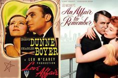 Love Affair and An Affair to Remember  Classic love stories...