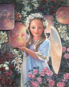Angel of Summer by Barbara Hails