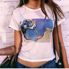 ISO If you have this top or know of anyone who does tag me! Brandy Melville Tops