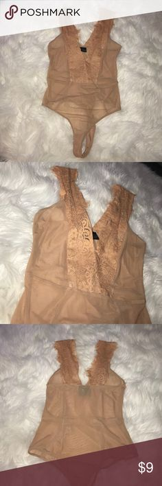 Body suit See-through mesh body suit never worn! Windsor Tops