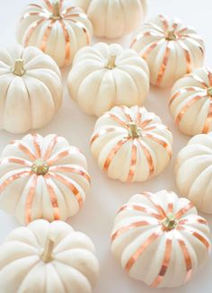 These gorgeous pumpkins are the ultimate fall decoration, all season long!