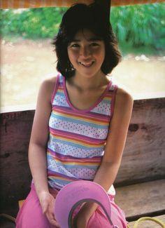 菊池桃子  Momoko Kikuchi (80's idol)