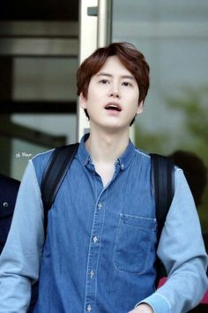 I'm so in love with kyu's forehead ♡