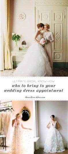12 Reasons You shouldn't bring too many people to your Bridal appointment Stunning Wedding Dresses, Dream Wedding Dresses, Wedding Gowns, Bridal Shops, Wedding Dress Shopping, Ever After, Maid Of Honor, Absolutely Stunning, Bridal Gowns