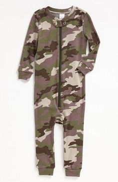 Love these cute pajamas for your little soldier!