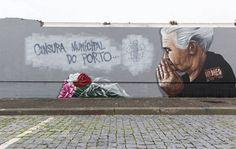Guiados por Rafi  Draw e Mesk  fomos à procura dos melhores graffitis espalhados pelo grande Porto