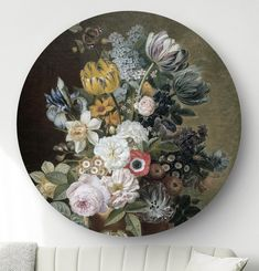 Ronde oude meesters: wandcirkels en muurcirkels HIP ORGNL Masters Dining Area, Painting & Drawing, Decorative Plates, Gallery Wall, Art Deco, Drawings, Interior, Illustration, Projects
