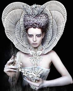 Photograph by Kirsty Mitchell // Wonderland // enchanting photos // fantasy photography