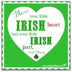 17 Irish Blessings, Proverbs and Toasts plus FREE Printables