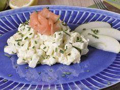 Receta | Ensalada de patata y manzana verde con salsa de yogur y mostaza  -  canalcocina.es
